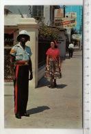 Jamaica, W. I. - Policeman In Colorful Uniform - Jamaïque