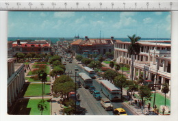 Jamaica, W. I. - King Street, Looking Towards Harbor, Kingston - Jamaïque