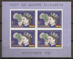 FAMILIAS REALES - GHANA 1961 - Yvert #H6 - MNH ** - Familias Reales