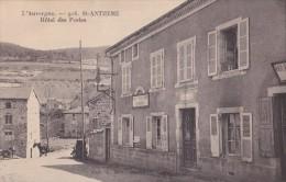 63) Saint  Anthème (Auvergne)  Hôtel Des Postes - Francia