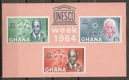 UNESCO - GHANA 1964 - Yvert #H12 - MNH ** - UNESCO