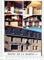 PAIMPOL   -  Hôtel Restaurant De La MARNE -   5 Vues : Extérieur - Intérieur - Placas De Cartón
