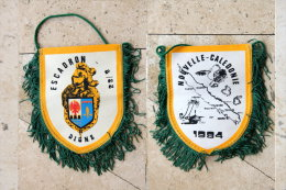 Fanion Gendarmerie: Escadron   8/22 - Drapeaux