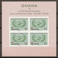 ICY - GHANA 1965 - Yvert #H16 - MNH ** - Tegen De Honger