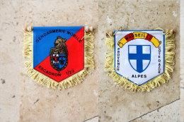 Fanion Gendarmerie: Escadron   1/22 - Drapeaux