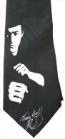Bruce Lee Super Star Artist Novelty Brand New Neck Tie - Autres