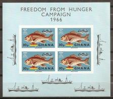 HUNGER - GHANA 1966 - Yvert #H20 - MNH ** - Against Starve