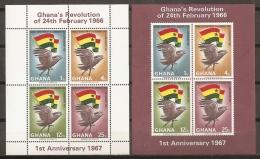 GHANA 1967 - Yvert #H24/25 - MNH ** - Ghana (1957-...)