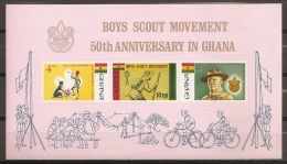 SCOUTS - GHANA 1967 - Yvert #H27 - MNH ** - Movimiento Scout