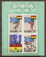 JUEGOS OLÍMPICOS - GHANA 1969 - Yvert #H33 - MNH ** - Verano 1968: México