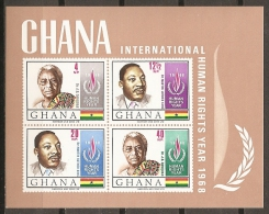 CELEBRIDADES - GHANA 1969 - Yvert #H33B - MNH ** - Martin Luther King