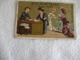 CAFE BRASSERIE...A LA JEUNE FRANCE.... LE MARIAGE 5. - Chromos