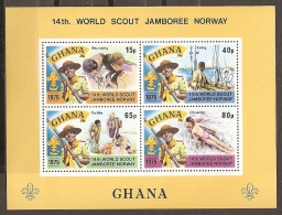 SCOUTS - GHANA1965 - Yvert #H61 - MNH ** - Movimiento Scout