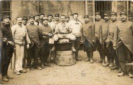 GAP (Hautes-alpes 05) - Militaires Du 112e Régiment D´Infanterie Territorial - Campagne De 1914. Carte-photo. - Gap