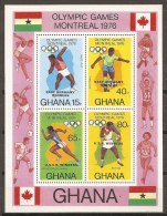JUEGOS OLÍMPICOS - GHANA 1977 - Yvert #H66 - MNH ** - Verano 1976: Montréal