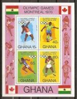 JUEGOS OLÍMPICOS - GHANA 1976 - Yvert #H62- MNH ** - Verano 1976: Montréal