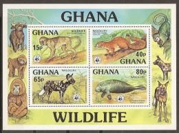 MEDIO AMBIENTE - GHANA 1977 - Yvert #H69 - MNH ** - Protección Del Medio Ambiente Y Del Clima