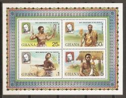CELEBRIDADES/ROWLAND HILL - GHANA 1980 - Yvert #H79 - MNH ** - Rowland Hill