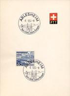 SUISSE  -   ARLESHEIM - Cartas