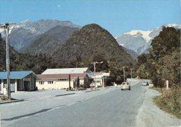 (628) New Zealand - Westland National Park - Mobil Petrol Station - Nuova Zelanda