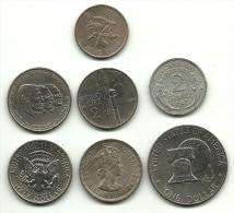 Mini Lotto Monete Mondiali 1, - Monete