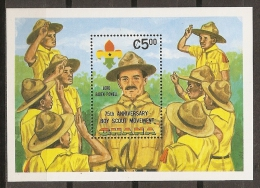 SCOUTS - GHANA 1982 - Yvert #H94 - MNH ** - Movimiento Scout