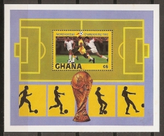 FÚTBOL - GHANA 1982 - Yvert #H95 ** - Precio Cat. €8 - World Cup