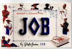 Buvard Papier à Cigarettes JOB Le Globe Fume JOB Des Années 1960 - Tabac & Cigarettes