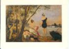 Tableau:F.ROPS:Dimanche à Bougival.Collection De La Province De Namur. - Paintings