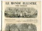 Aérostation Ascension Du Ballon Guillaume Tell 1874 - Books, Magazines, Comics