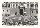 Cp, Principauté De Monaco, Le Palais Pricier, LA Relève De La Garde, Voyagée 1956 - Palais Princier