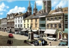 Cornwall Postcard - City Centre, Truro    LC1839 - England
