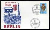 27964) Berlin - Brief - SoST 1000 BERLIN 12 Vom 22.10.1981 - BEPHILA'81 Briefmarkenausstellung - Poststempel - Freistempel