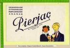 BUVARD :Orangeade Citronnade Pamplemousse PIERJAC