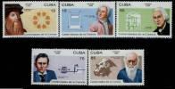 Cuba  MNH Scott 3716-20 Scientists - Cuba