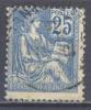 France YT N°118 Mouchon Oblitéré ° - 1900-02 Mouchon
