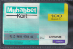 TUNISIA  RARE PHONECARD / CARD 3 - Turkije