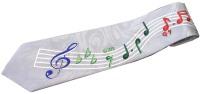 Musical Notes Cartoon Novelty Fancy Neck Tie - Altre Collezioni