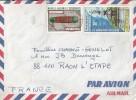 Nouvelle Calédonie  Lettre Par Avion  11/11/1976  Affranchie   Cat Yt ° 381,403 - Nouvelle-Calédonie