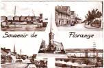 57. FLORANGE .MULTIVUES. SOUVENIR DE FLORANGE. - Unclassified