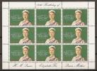 FAMILIAS REALES - GIBRALTAR 1980 - Yvert #410 (Minipliego) - MNH ** - Familias Reales