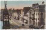 Carte Postale Photo Cherbourg Le Qaui Alexandre III Et Le Bassin Du Commerce - Cherbourg