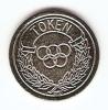 TOKEN,JETON,GETTONE,OLYMP IC CIRLES;NO CASH VALUE - Unclassified