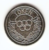 TOKEN,JETON,GETTONE,OLYMP IC CIRLES;NO CASH VALUE - Tokens & Medals