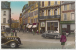 Carte Postale Photo Couleur Cherbourg La Rue Du Maréchal Foch .Rare Beau Plan Superbe Animation - Cherbourg