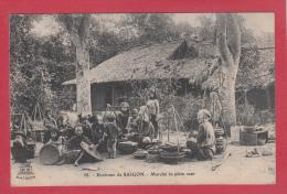 SAÏGON  [Tonkin - Viêt Nam] --> Marché En Plein Vent - Sri Lanka (Ceylon)