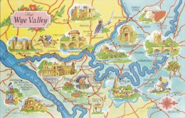 MAP CARD -THE WYE VALLEY - Maps