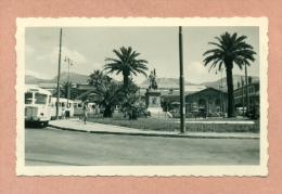 PHOTOGRAPHIE  - 83 - TOULON - LA GARE / GARE ROUTIERE - AUTOBUS / AUTOCAR CHAUSSON  -  AOUT 1951 - - Places