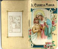 ED. S.L.E. - IL CUORE A MARIA - LIBRETTO- Mm.77X135 - E - Religion & Esotérisme