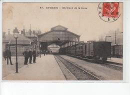 EVREUX - Intérieur De La Gare - Très Bon état - Evreux